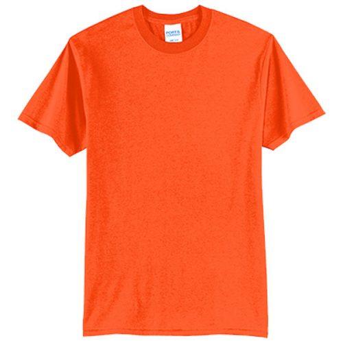 Tall Safety Orange Shirt
