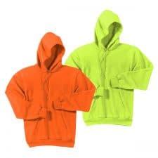Port & Company Safety Fleece Pullover Hooded Sweatshirt