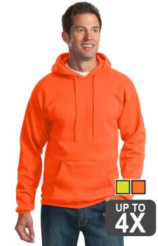 Port & Company Safety Fleece Pullover Hooded Sweatshirt
