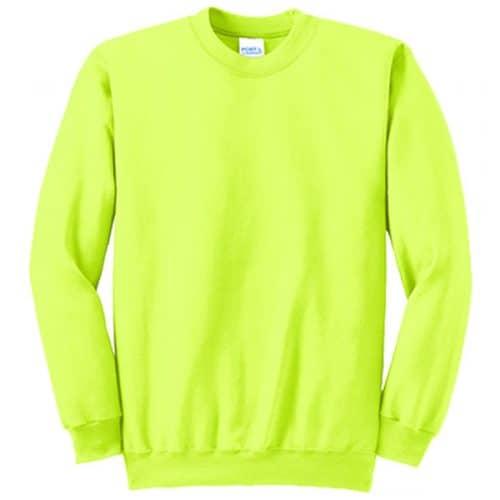 Big and Tall Safety Crewneck Sweatshirt