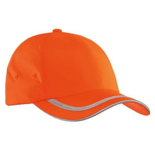 safety orange cap