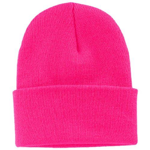 Safety Pink Stocking Cap