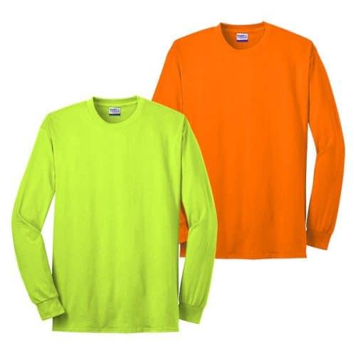 U.S. Made Long Sleeve Safety Shir