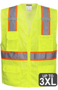 Portwest Orlando Contrast Mesh Safety Vest