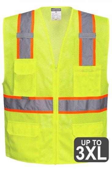Portwest Contrast trim Safety Vest