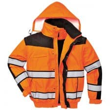 Portwest Safety Orange Jacket
