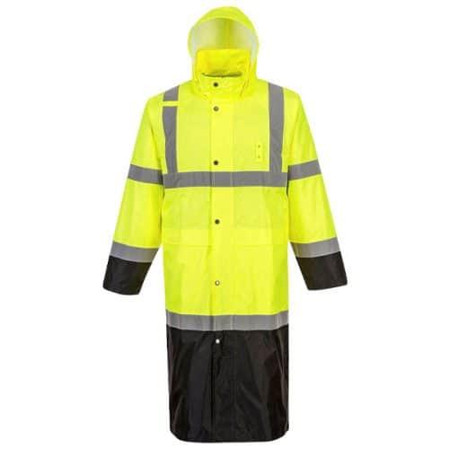 Portwest Safety Rain Coat