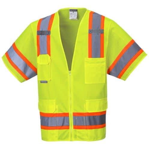 Potwest Safety Green Vest