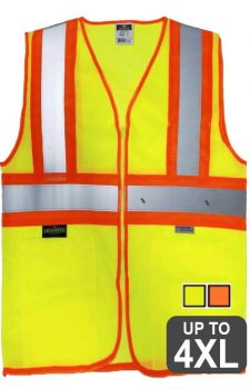 Radians 3.5oz Poly Mesh Two Tone Vest
