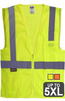 Radians Economy Mesh Zipper Vest