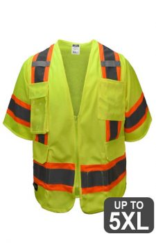 Radians Safety Full-Zip Class 3 Surveyor Vest