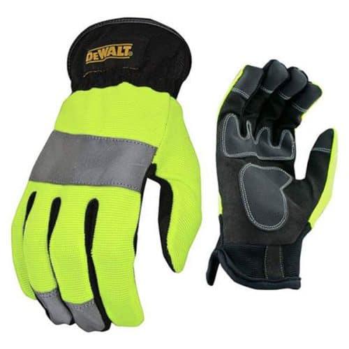 Safety Green Work Gloves