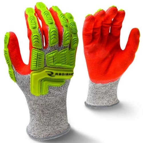 Hi Vis Safety Gloves