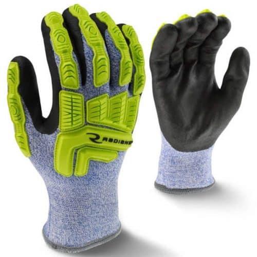 Hi Vis Work Gloves