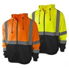 Radians Safety Full-Zip Hooded Sweatshirt