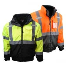 Radians Safety Three-In-One Bomber Jacket