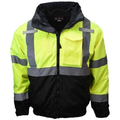 Radians Safety Green Bomber Jacket
