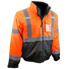 Radians Safety Orange Bomber Jacket