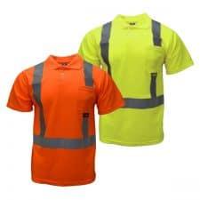 Radians Safety Short Sleeve Pocket Polo