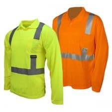 Radians Safety Long Sleeve Pocket Polo