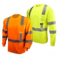 Radians Safety Long Sleeve UV Pocket Shirt