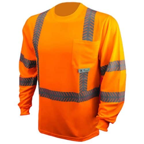 Radians Safety Orange Class 3 Reflective Shirt