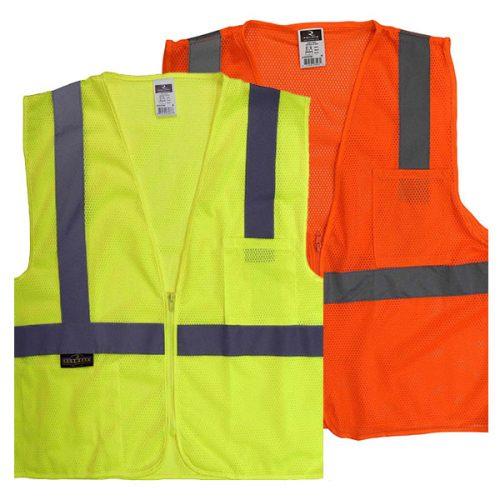 Radians Economy Safety Vest with Zipper