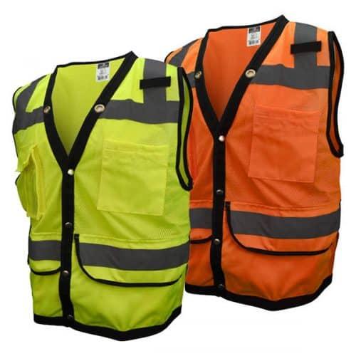 Hi Vis Heavy Duty Safety Vests