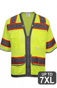 RAF Class 3 Short Sleeve High Visibility Safety Vest