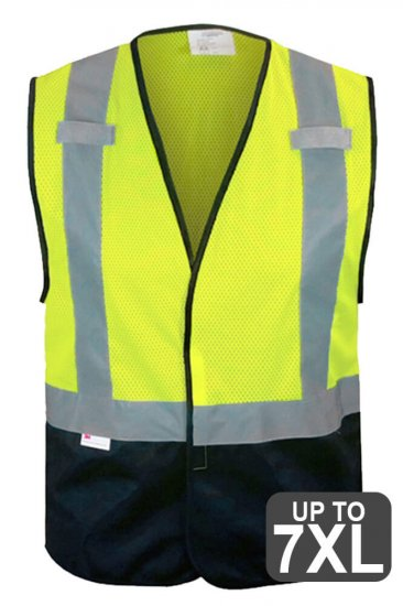 RAF Black Bottom Safety Vest