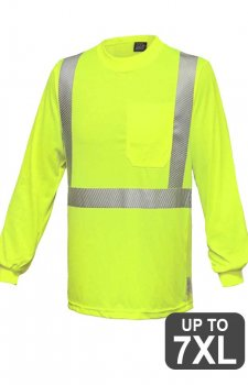 RAF VEA-202 Safety Long Sleeve Pocketed Shirt