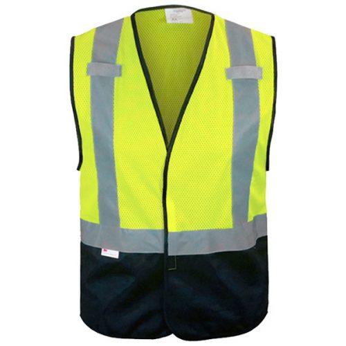 Black Bottom Safety Vest