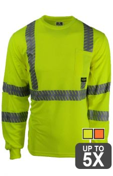 Radians Safety Long Sleeve UV Pocket Shirt