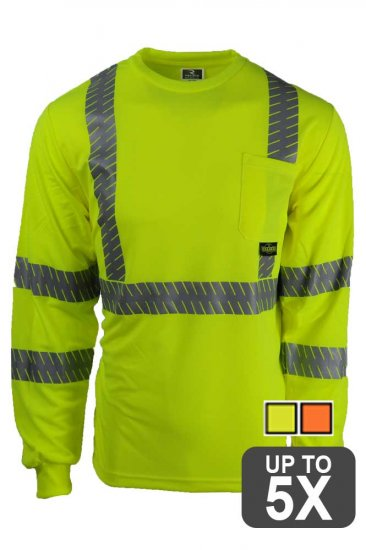 Radians Long Sleeve Class 3 Safety Shirt