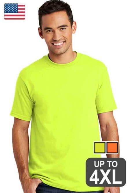 US Made Short Sleeve Safety Shirt