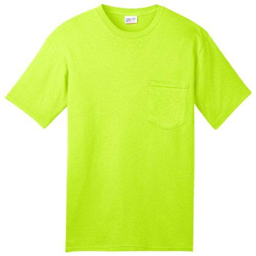 U.S. Made Safety Green Pocket Shirt