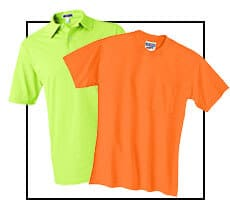 Short Sleeve Safety Shirts and Safety Polos