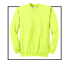 Safety Crewneck Sweatshirts